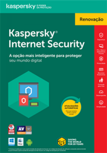 Kaspersky Internet Security RENOVAÇÃO - Download